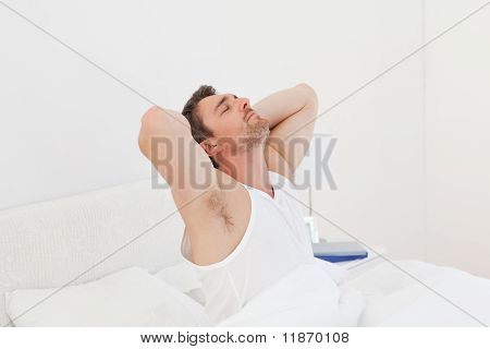 A Man  Waking Up
