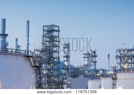 Gas Tank Oil Petrochemical Plant
