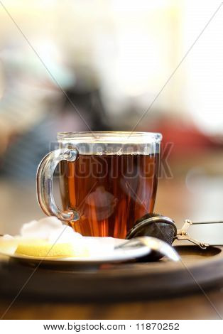 hot tea for cold day