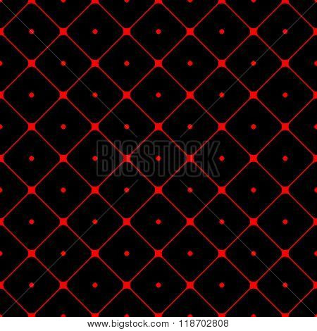 Polka Dot Seamless Pattern Rhombus Ornament 1