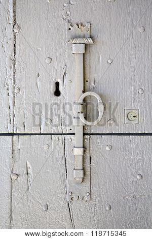 Villadosia   In A  Door Curch  Closed Wood  Italy