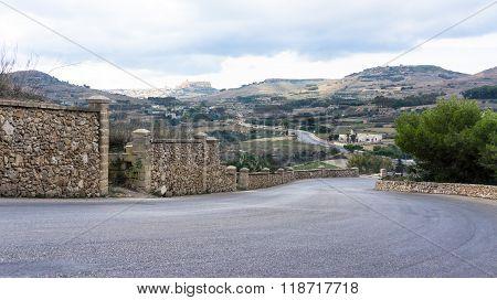 View Towards The Citadel