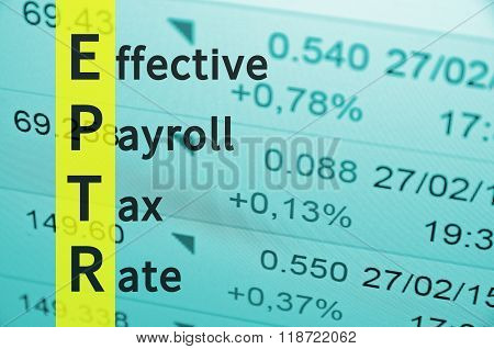 Effective Payroll Tax Rate