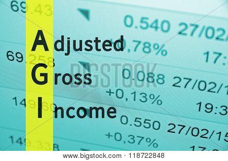 Adjusted Gross Income.