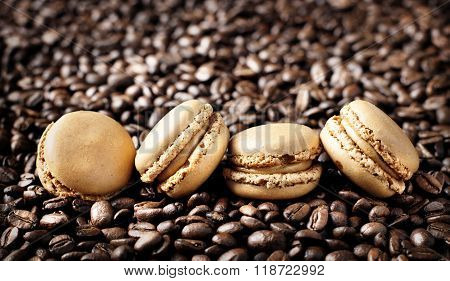 French Coffee Macarons
