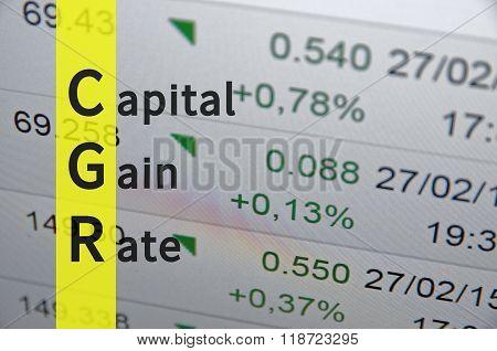 Capital Gain Rate
