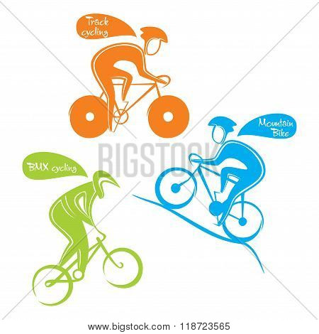 different cycling sports design