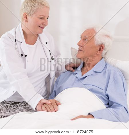Professional Care At Hospital