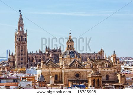 Tower Giralda, Cathedral of Saint Mary of the See, Seville