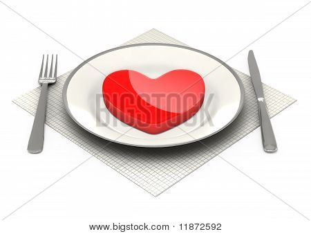 3d classic dinnerware