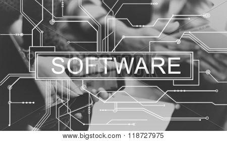 Software Digital Electronics Internet Program Web Concept
