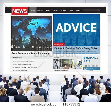 Advice Consultant Suggestion Support Adviser Concept