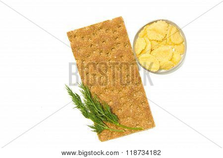 Breakfast Cereals: Bread,  Corn Flakes