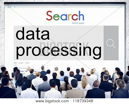 Data Processing Classify Protecting Information Concept