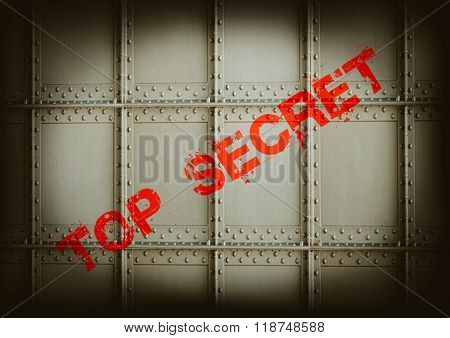 secret military armored compartment from unauthorized access