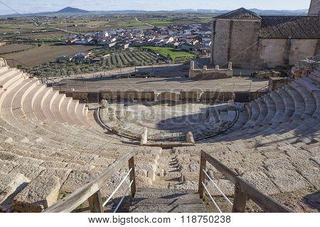 Roman Theatre Of Medellin, Spain