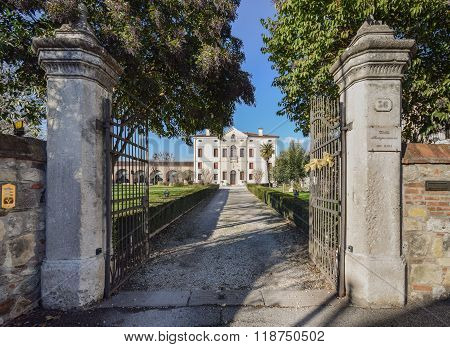 Villa Bongiovanni, Verona, Italy.