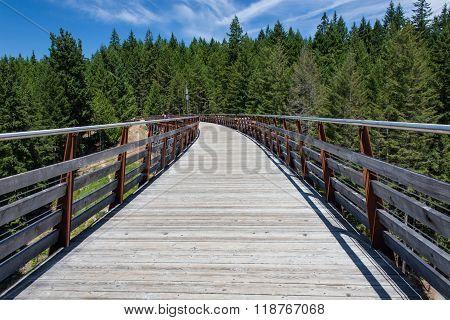 Walkway Across Former Railway Bridge