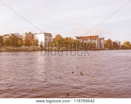 River Spree, Berlin Vintage