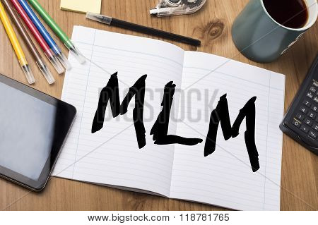 Mlm - Note Pad With Text