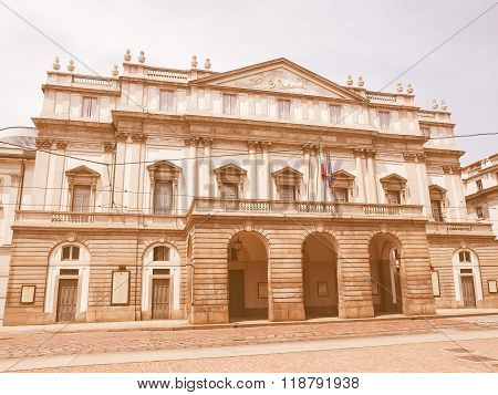 Teatro Alla Scala, Milan Vintage