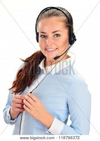 Call Center Operator. Customer Support. Help Desk.