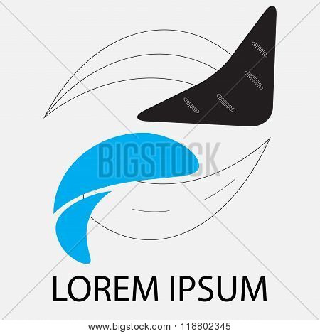 Logo Business Abstract Arrow Circle