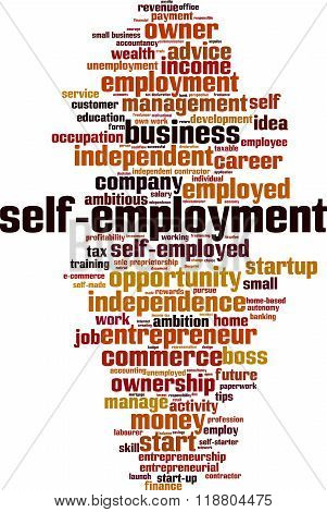 Self-employment Word Cloud