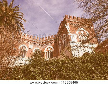 Albertis Castle In Genoa Italy Vintage