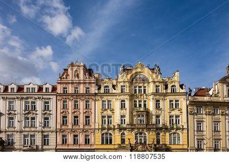 Historical Building In Prag