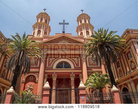 Church in Santiago de Chile