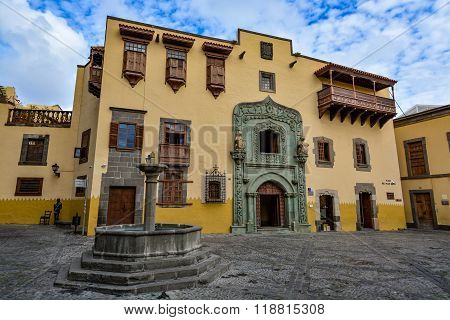 Casa de Colon (The house of Christopher Columbus), Las Palmas, Gran Canaria, Spain
