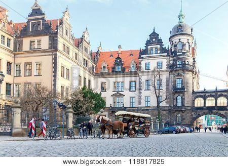 Dresden. Royal Palace.