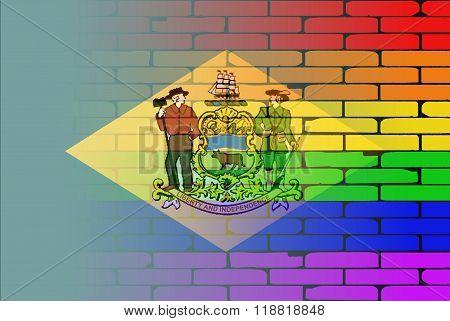 Rainbow Wall Delaware