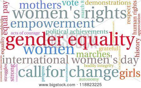Gender Equality Word Cloud