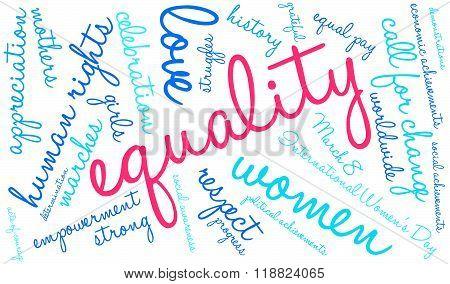 Equality Word Cloud