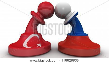 The confrontation between the Russian Federation and Turkey. The concept