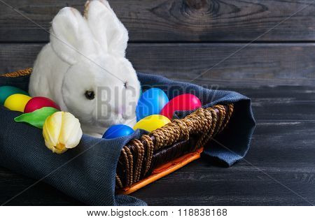 Easter White Rabbit