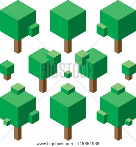 Simple Square Tree Vector Set