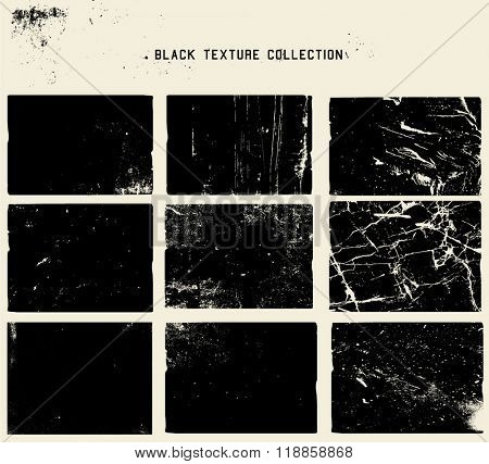 abstract grunge dirty black texture