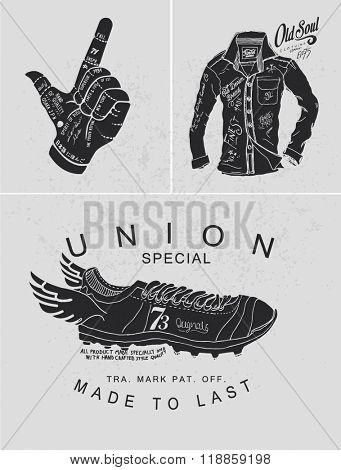 t-shirt graphic handmade typography 7