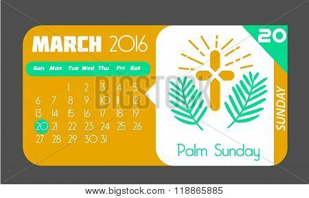 20 March Palm Sunday