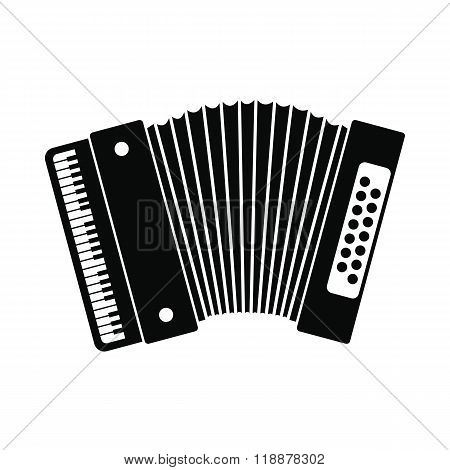 Retro accordion icon