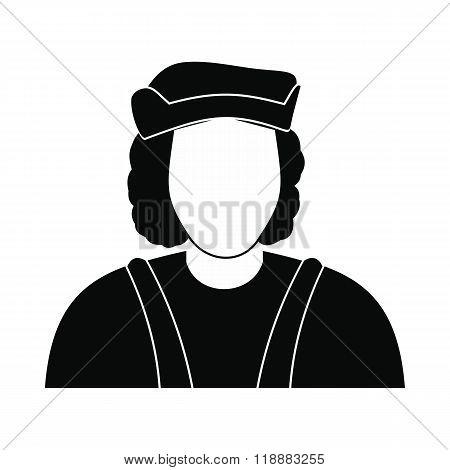 Christopher Columbus costume icon