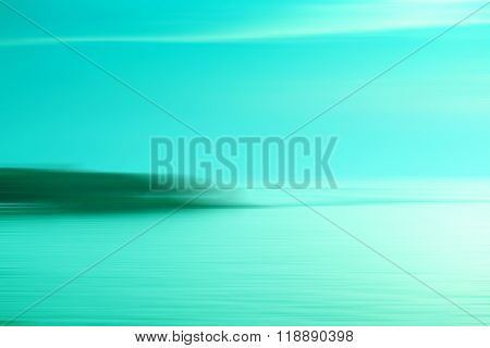 Motion Blurred Background Of Refraction In The Sea