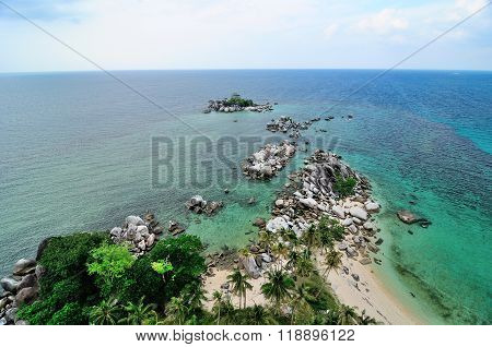 Lengkuas Island's Beach