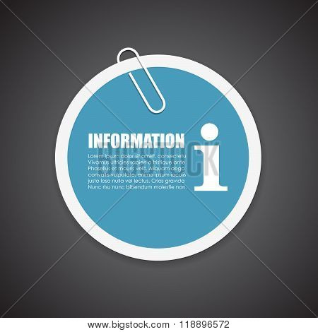 Information vector sticker