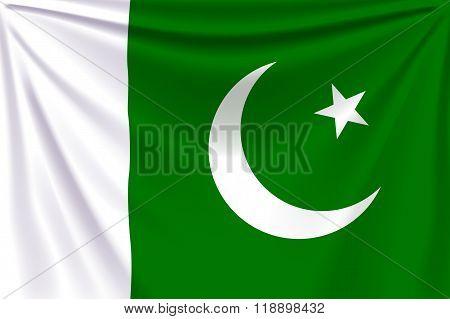 back flag pakistan