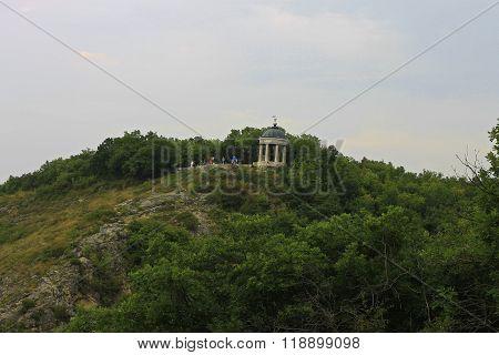 Aeolus Harp In Summertime. Pyatigorsk Landmarks And Monuments