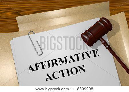 Affirmative Action Concept